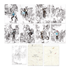 SuperM x Kim Junggi - 'Tiger Inside' Coloring Paper Set + Digital Album