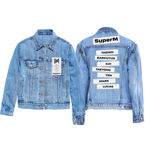 Super M Denim Jacket