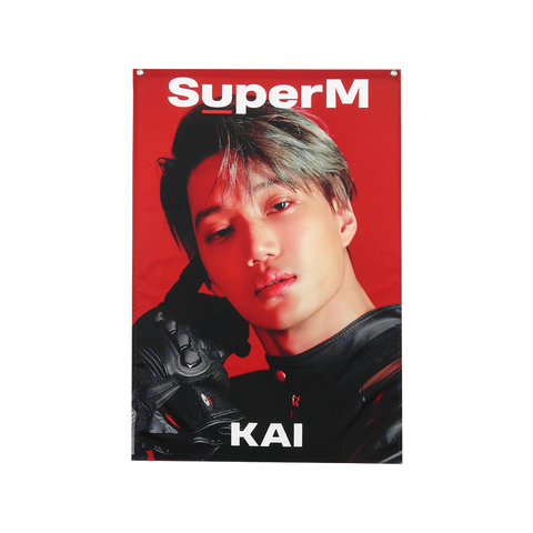 SuperM Member Fabric Poster + Digital Album