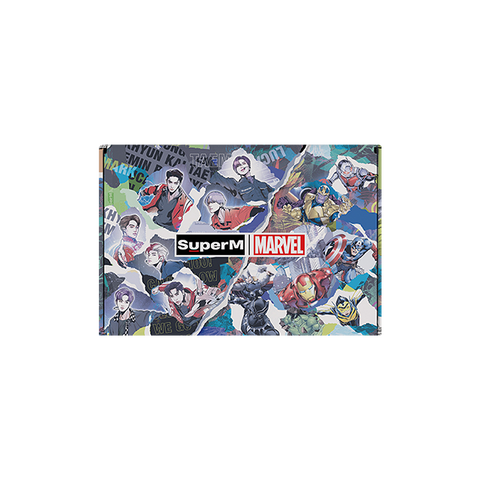 SuperM X MARVEL Special Package Logo Type + Digital Album