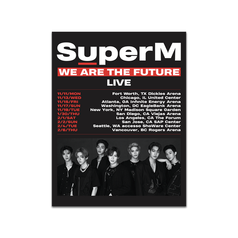 We Are The Future Tour Poster + Digital Album