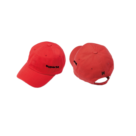 SuperM Red Ball Cap + Digital Album