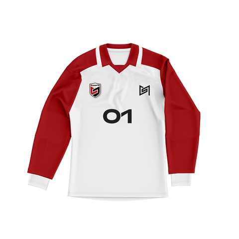 SuperM 'Super One' White/Red Sports Jersey + Digital Album