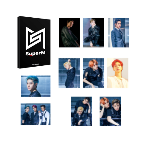 Super M Post Card Set + Digital Album