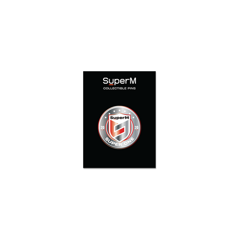 SuperM 'Super One' Collectable Metal Pin + Digital Album