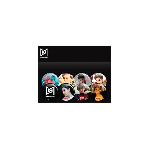 Super M Button Set + Digital Album