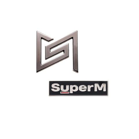 Super M Pin Set + Digital Album