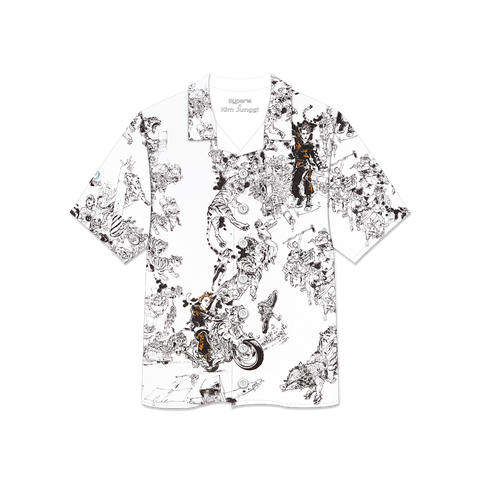 SuperM x Kim Junggi - 'Tiger Inside' Art Printed Shirt + Digital Album