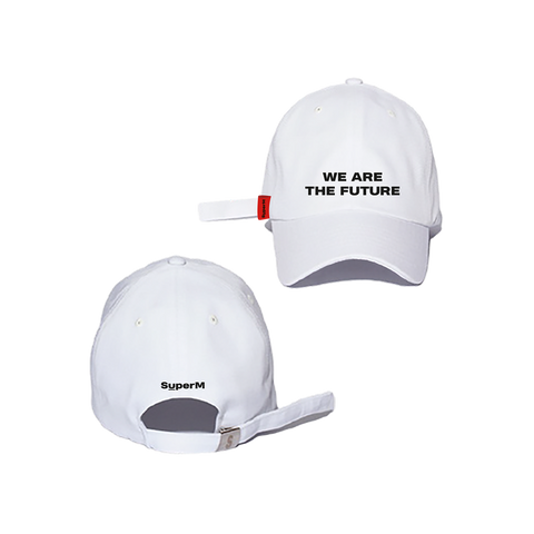 SuperM White Ball Cap + Digital Album