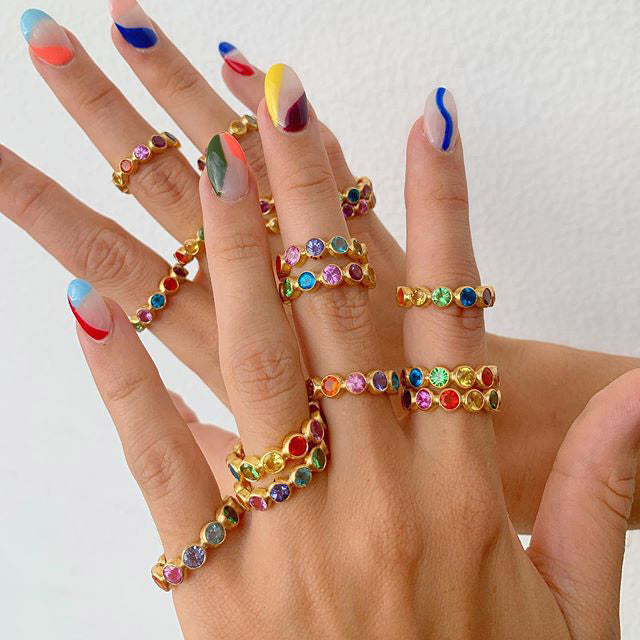 mariehelenedetaillac_bollywood-band-gold-multicolored-gems