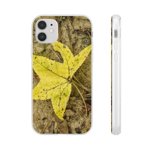 The Yellow Leaf Flexi Cases for Iphone