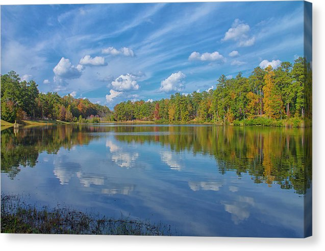 A Sunny Fall Day - Canvas Print