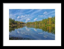 Load image into Gallery viewer, A Sunny Fall Day - Framed Print