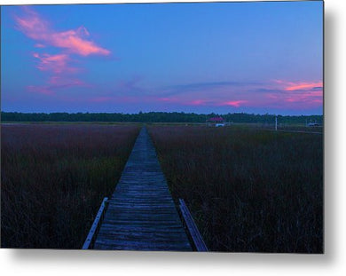 The South Carolina Sunset - Metal Print