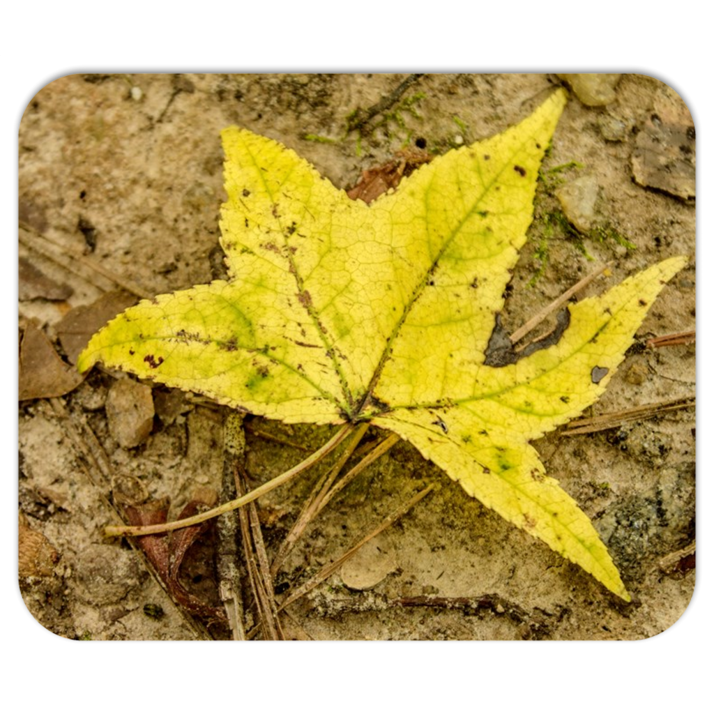 The Yellow Leaf Mousepads