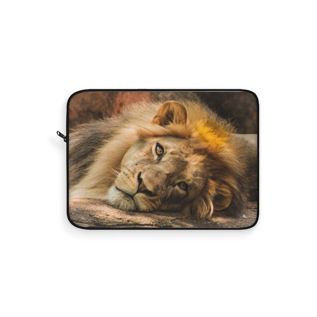 Portrait of Leo Laptop Sleeve