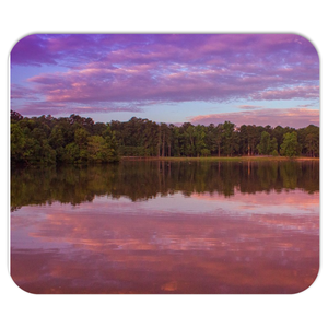 The Morning Pink Sunrise Mousepads