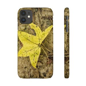The Yellow Leaf Snap Cases for Iphone