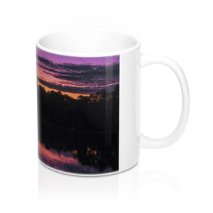 The Early Morning Sunrise Reflection Mug 11oz