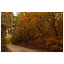 Load image into Gallery viewer, Fall on a County Road Posters