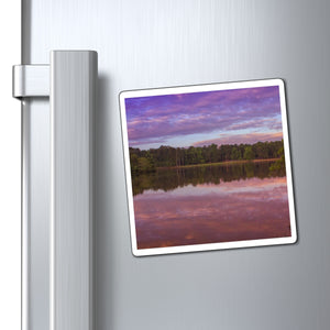 The Morning Pink Sunrise Magnets