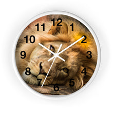 Load image into Gallery viewer, Portrait of Leo Wall clock
