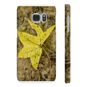 The Yellow Leaf Wpaps Slim Phone Cases for Samsung