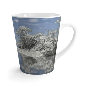 The Winterscape Reflection Latte Mug