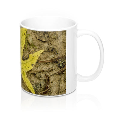 The Yellow Leaf Mug 11oz