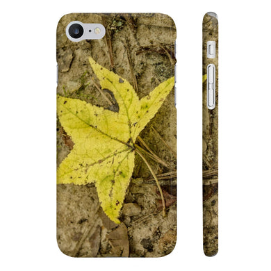 The Yellow Leaf Wpaps Slim Phone Cases for IPhone