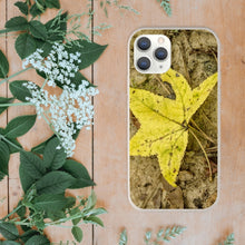 Load image into Gallery viewer, Yellow Leaf Biodegradable Case for Iphone