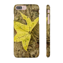 Load image into Gallery viewer, The Yellow Leaf Snap Cases for Iphone