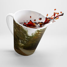 Load image into Gallery viewer, Fall on a County Road Latte Mug