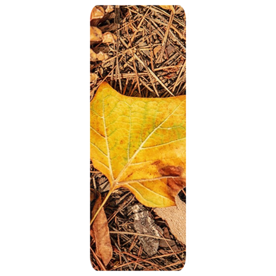 Yellow Leaf & Pine Straw Yoga Mats