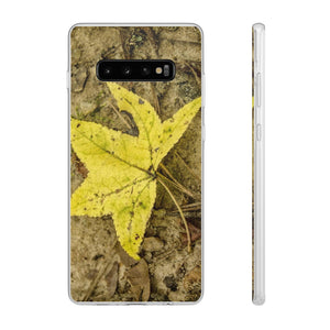 The Yellow Leaf Flexi Cases for Samsung