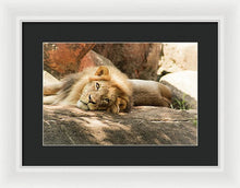 Load image into Gallery viewer, I'm Leo The Lion - Framed Print