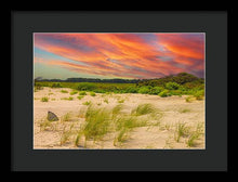 Load image into Gallery viewer, The Beautiful Sunset on the Beach - Framed Print