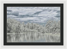 Load image into Gallery viewer, The Coming Of A Winter Storm - Framed Print