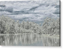 Load image into Gallery viewer, The Coming Of A Winter Storm - Acrylic Print