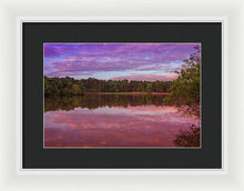 Load image into Gallery viewer, The Morning Pink Sunrise - Framed Print