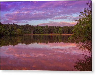 The Morning Pink Sunrise - Acrylic Print