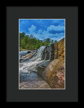 Load image into Gallery viewer, The Waterfall Wall In Hdr - Framed Print
