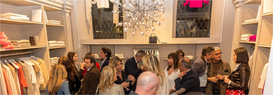 Malo Milan Boutique event