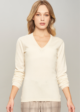 Load image into Gallery viewer, Cashmere V neck