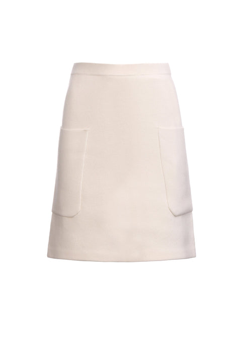 Double skirt with pockets