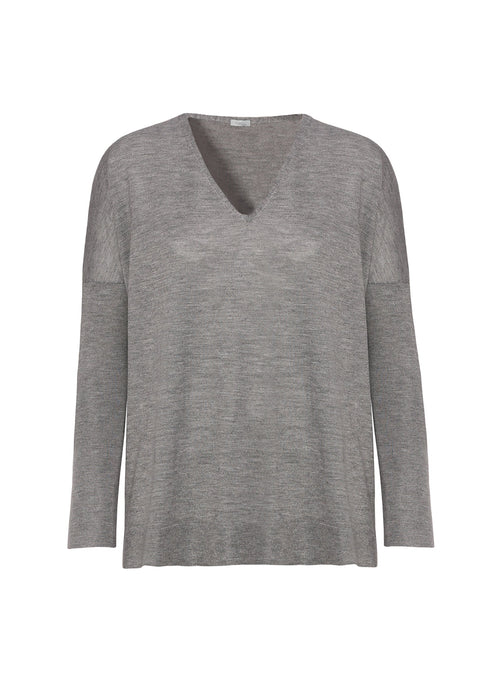 Cashmere - seta  V neck sweater