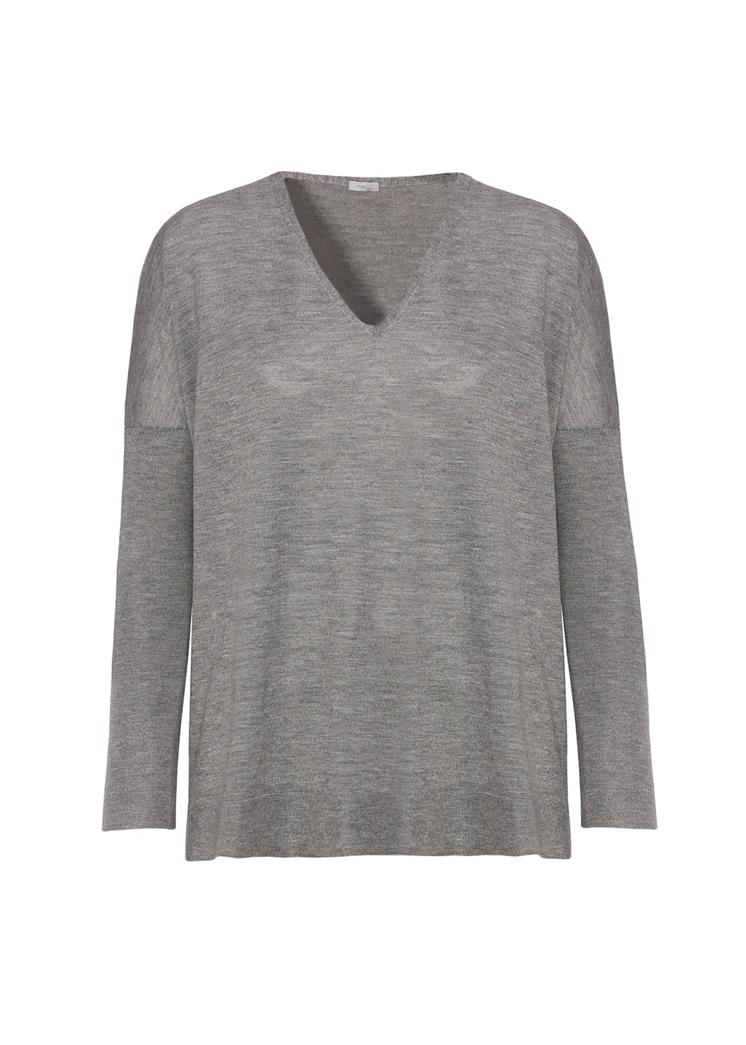 Cashmere - silk  V neck sweater