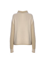 Load image into Gallery viewer, Cashmere crewneck with paillettes