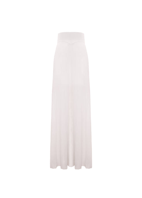Pleated pants in Makò cotton