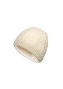 Kids beanie in pure cashmere